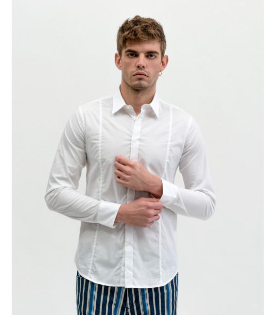 Basic skinny fit shirt