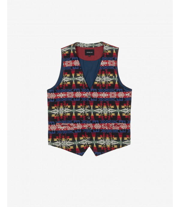 More about Aztet patterned waistcoat