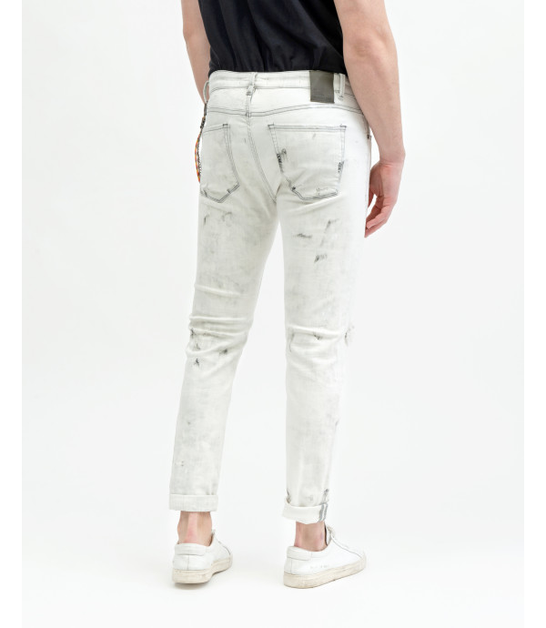 Mike white carrot cropped fit jeans