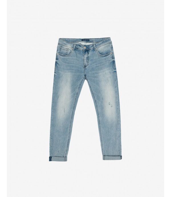 Kevin light wash skinny fit jeans