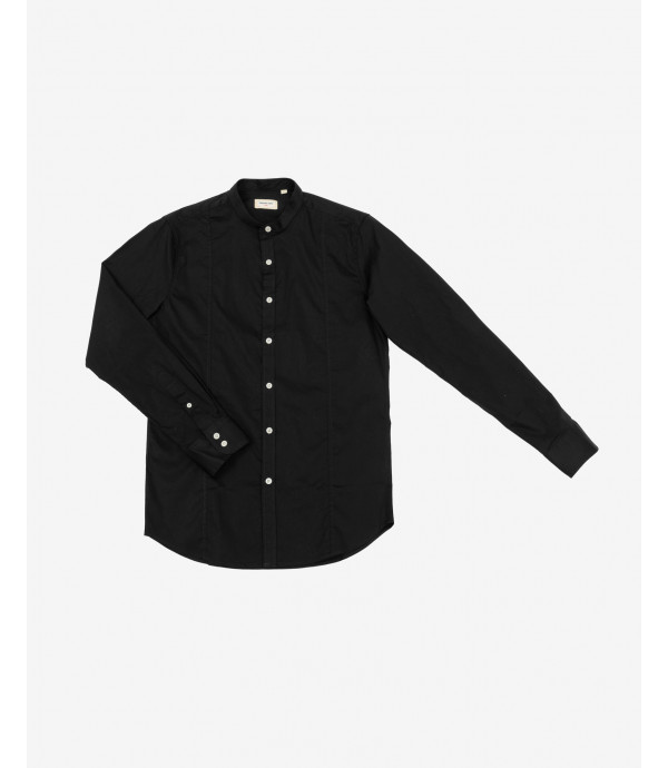 More about Slim fit basic mandarin collar shirt