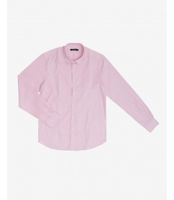 Slim collar basic shirt