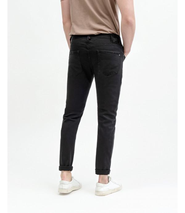 Kevin skinny fit black jeans