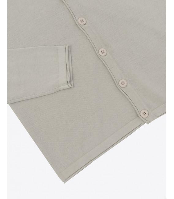 Cardigan cotone basic
