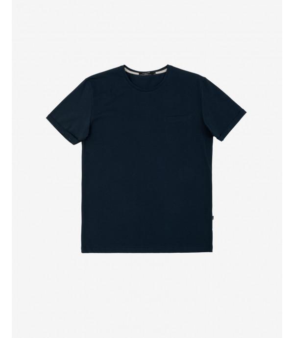 T-shirt basic con taschino