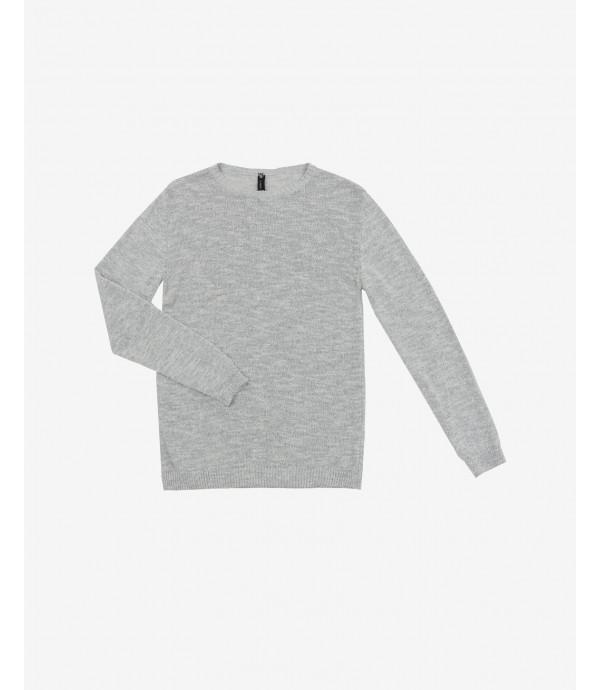 More about Slubbed crewneck sweater