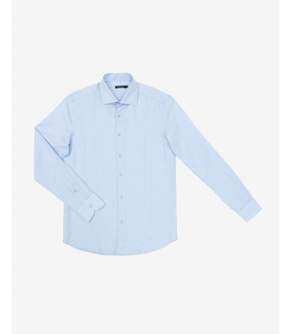 French collar Oxford shirt