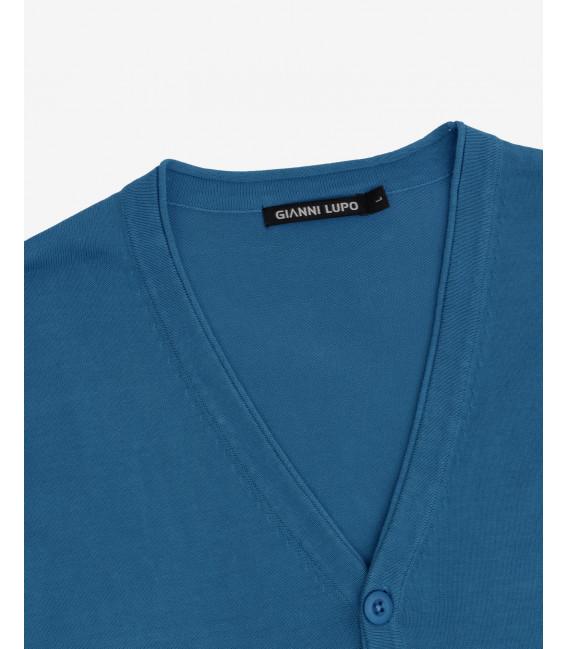 Basic cotton cardigan