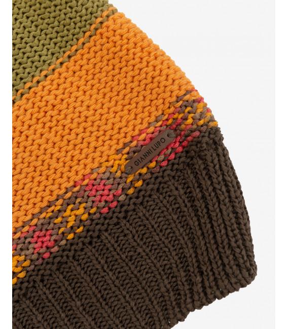 Sweater with intarsia
