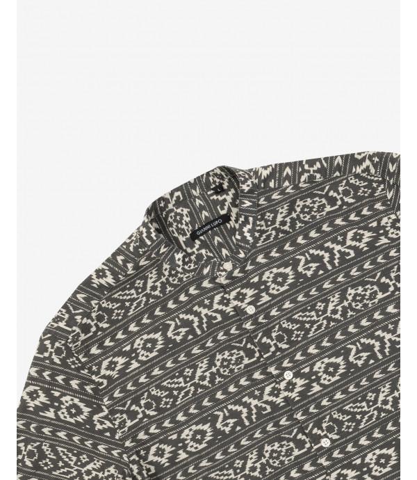 Camicia cotone fantasia Azteca