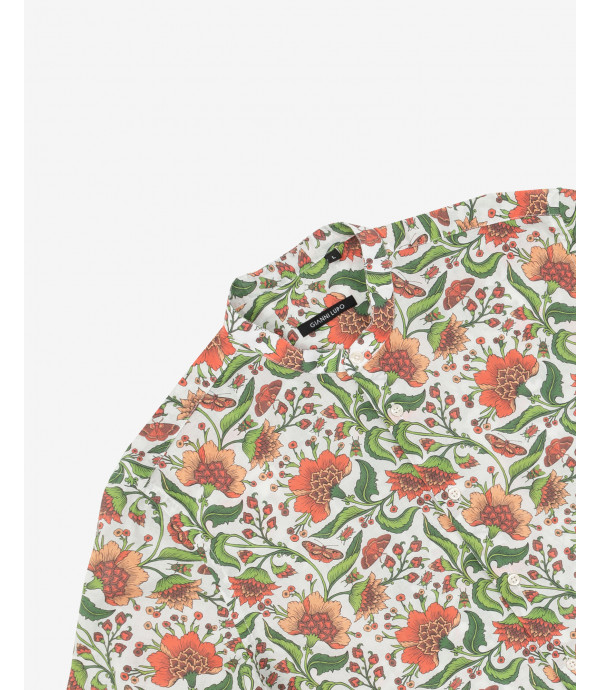 Floral patterned shirt