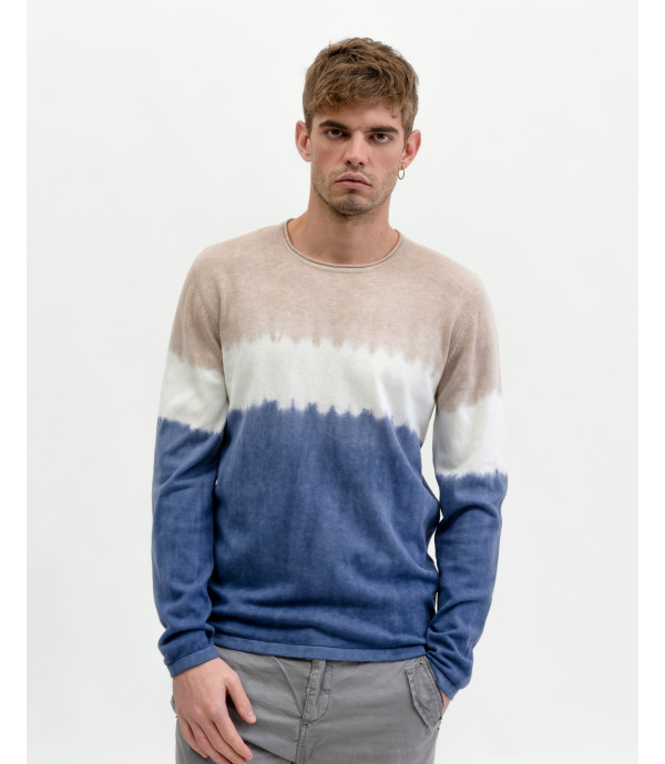 More about Crewneck sweater with shading