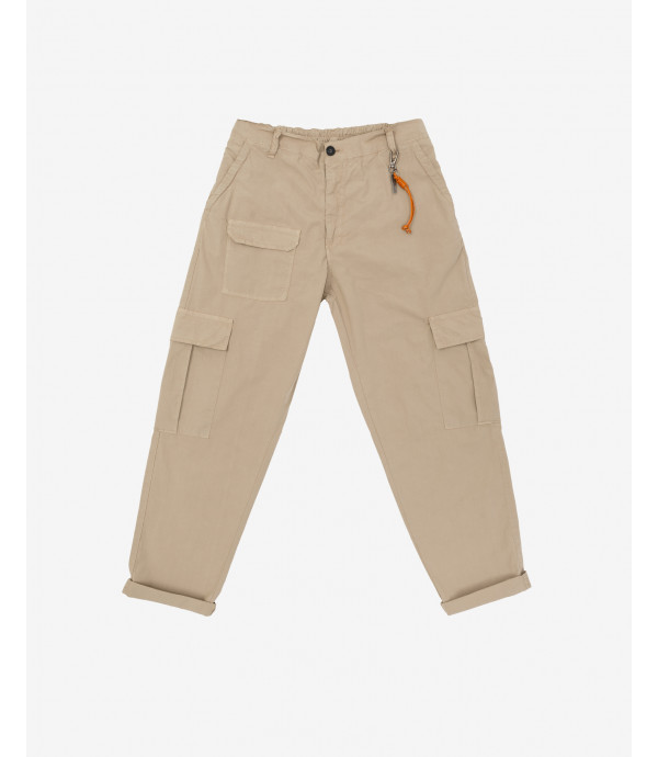 Comfort fit cargo trousers