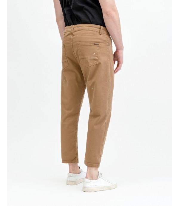 Pantalone carrot 5 tasche