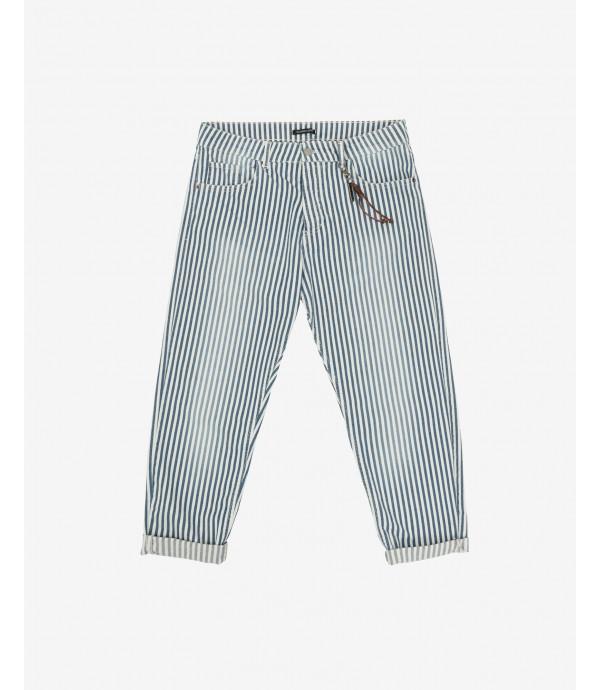 Carroft fit striped jeans