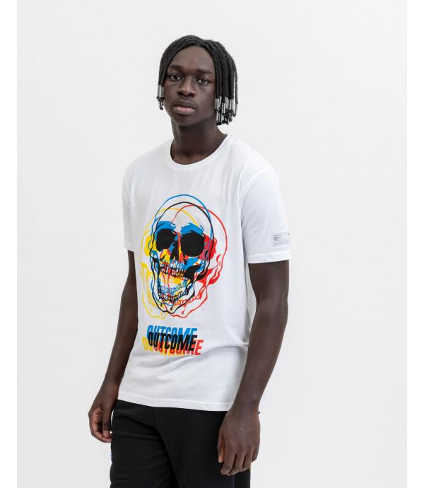 T-shirt 3D skull