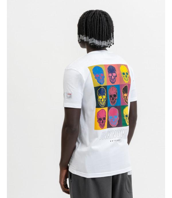 T-shirt multi skull