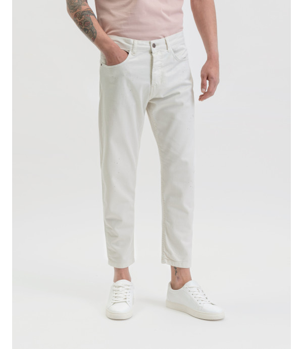 5-pocket trousers carrot fit