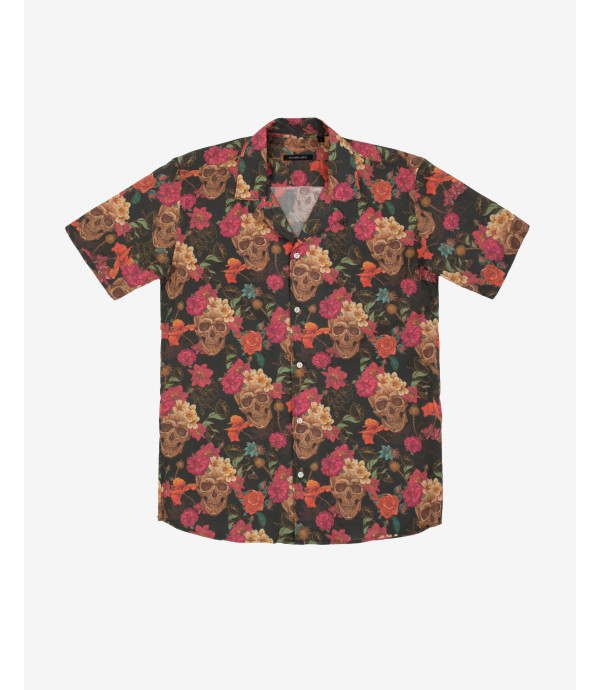 Floral patterned Hawaiian shirt