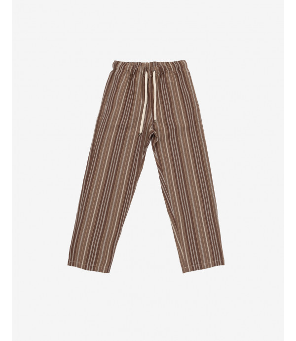 More about Striped comfort fit drawstring trousers