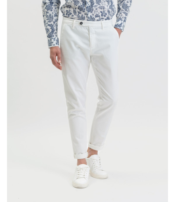 Micro patterned chinos