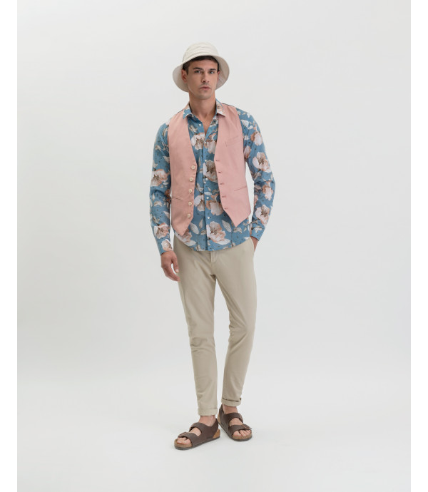 Floral patterned shirt