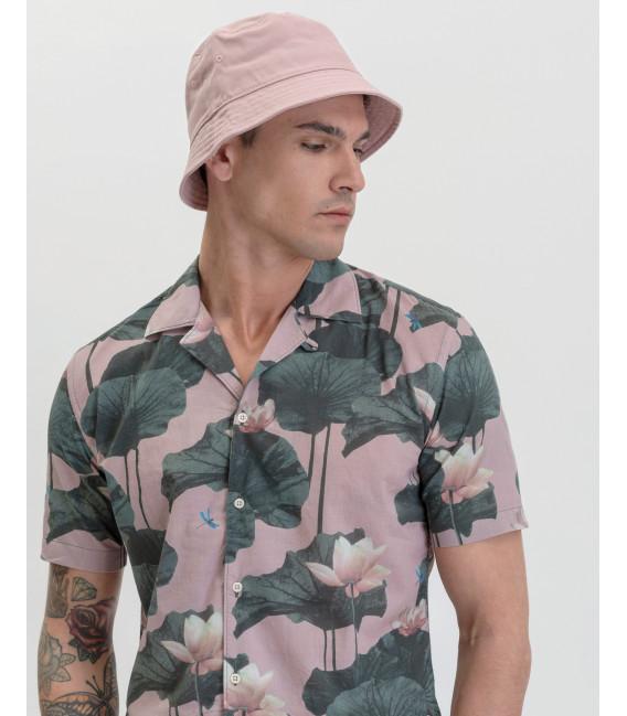 Floral patterned Hawaiian shirt