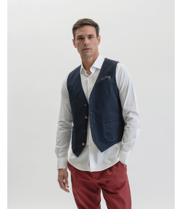Different buttons waistcoat