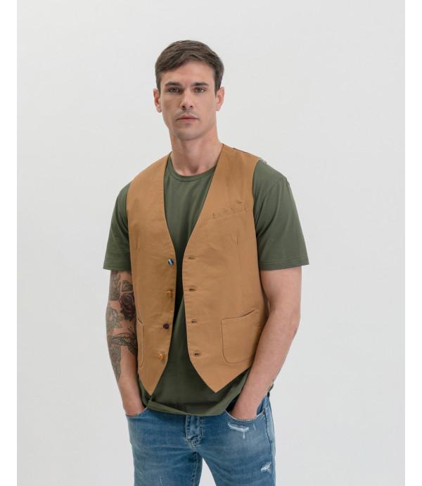 Different buttons waistcoat