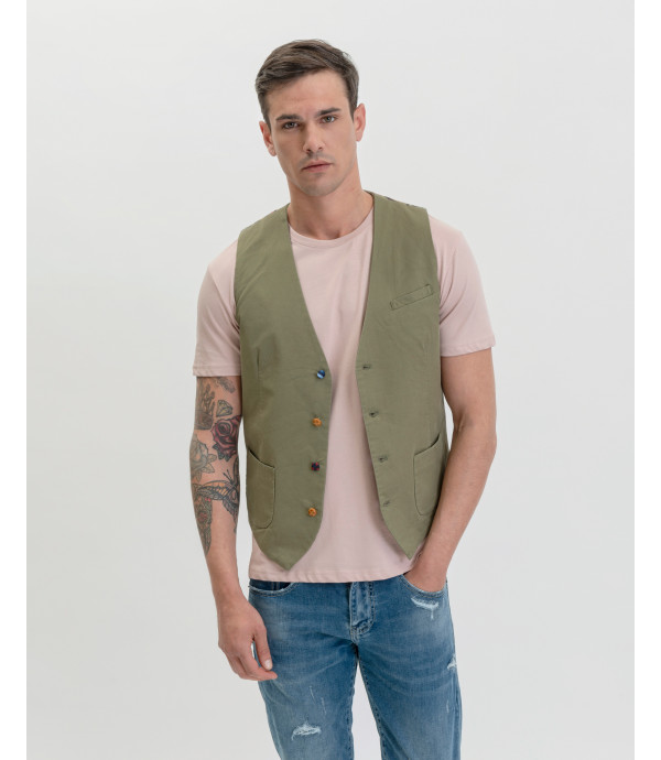 More about Different buttons waistcoat