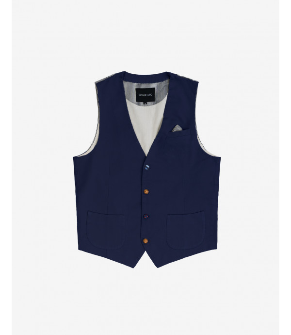 Waistcoat with different buttons