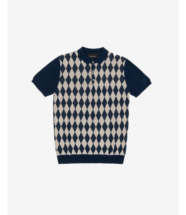 More about Checkered polo shirt