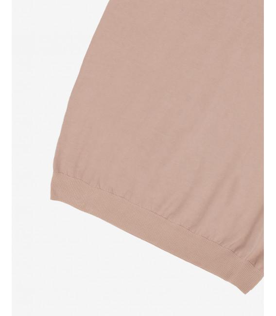 Basic cotton polo shirt