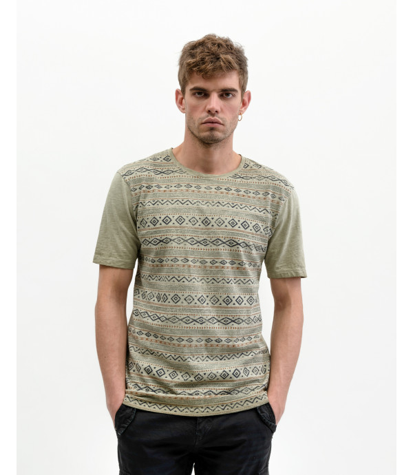 T-shirt stampa Aztec