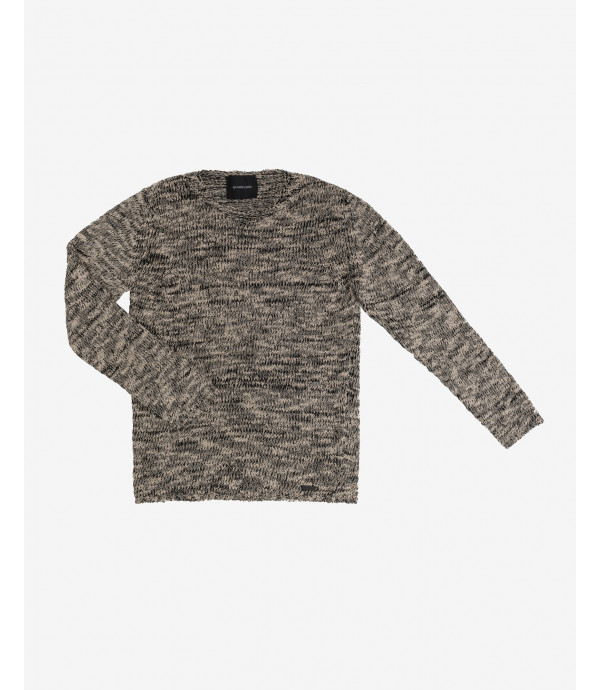 More about Distressed melange sweater