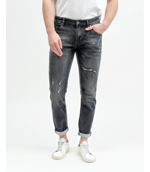 Kevin black skinny fit jeans