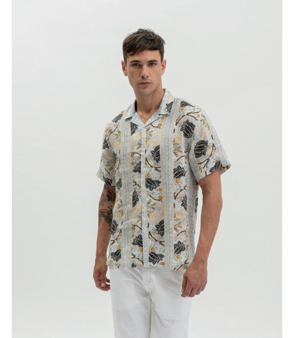 Camicia fantasia floreale