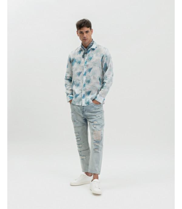 Abstract printed shirt
