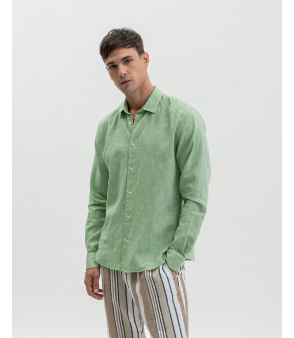 Linen mix shirt