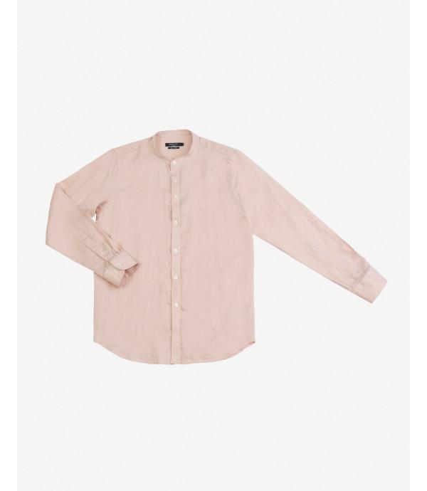 Mandari collar linen shirt