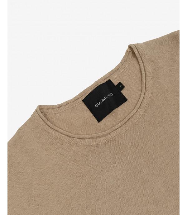 Linen mix pullover