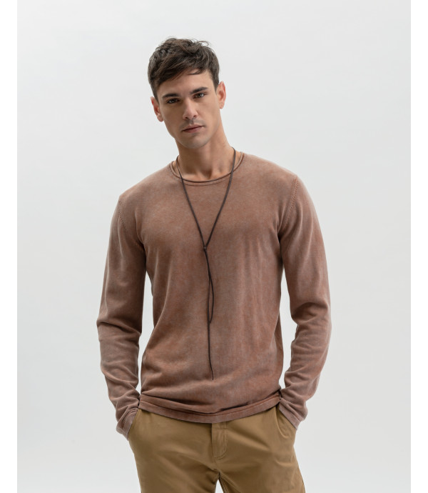 More about Washied cotton pullover
