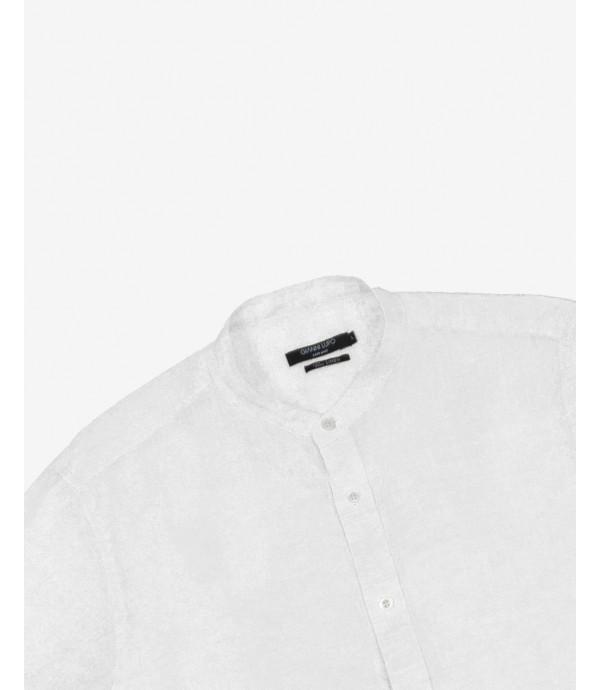 Overhead shirt in linen