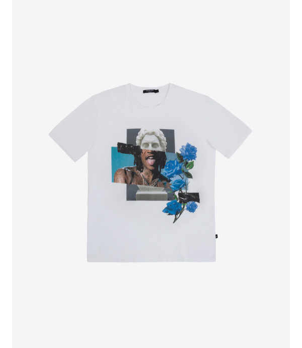 T-shirt stampa collage