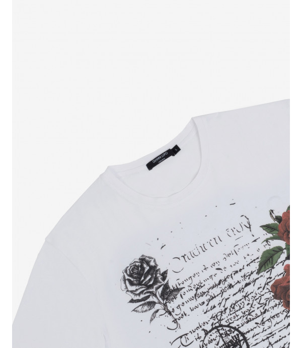 T-shirt stampa poetry