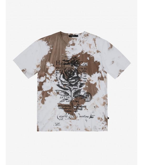 T-shirt stampa rose
