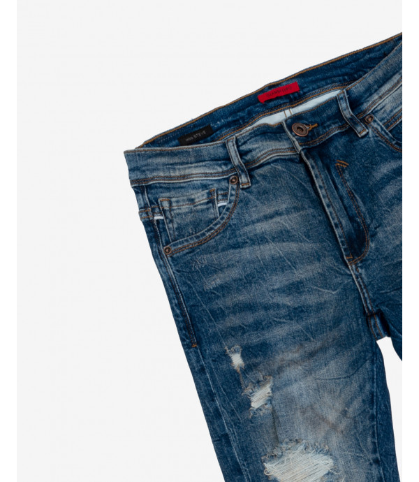 Steve super skinny jeans with rips