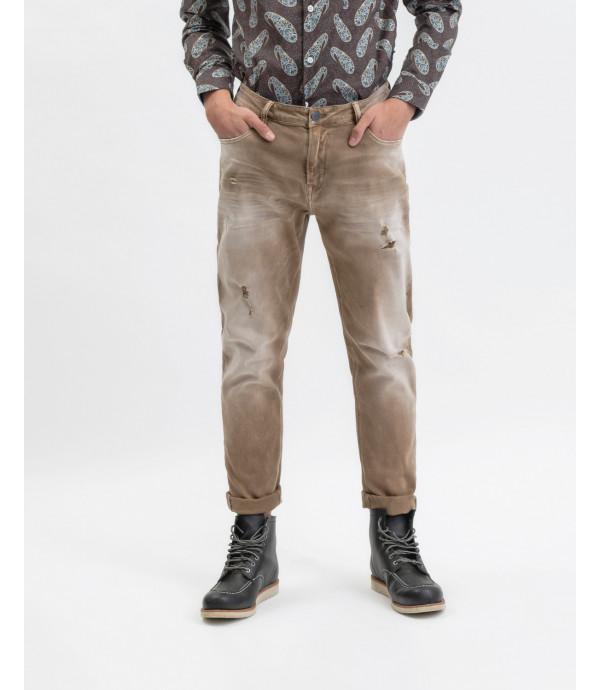 Bruce regular fit jeans in camel