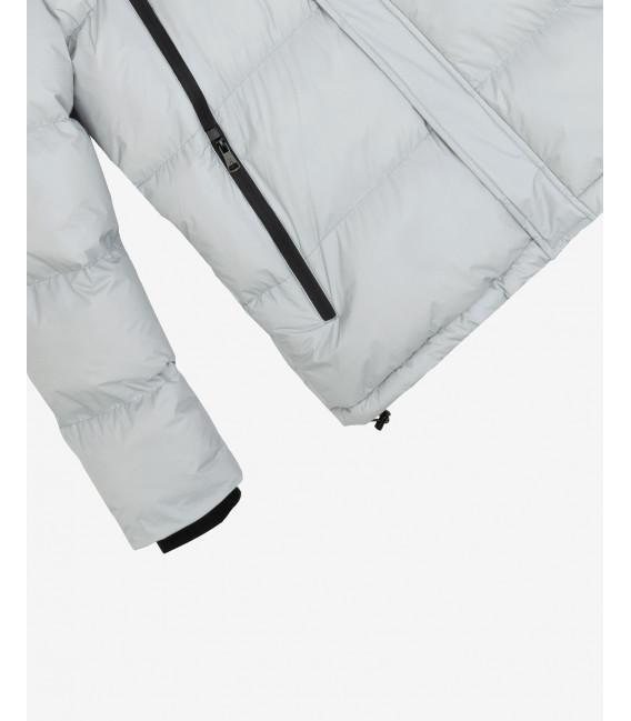 Tech fabric puffer jacket