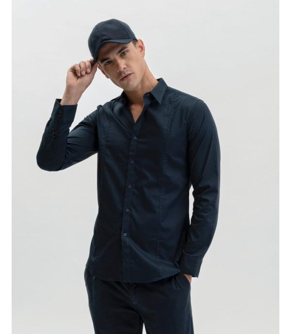 Camicia basica super slim fit